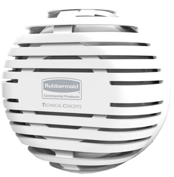 Rubbermaid luchtverfrisser TCELL 2.0, wit