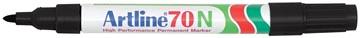 Permanent marker Artline 70 zwart