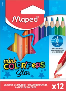 Maped driehoekig kleurpotlood Color'Peps Mini