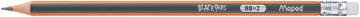 Maped potlood Black'Peps HB met gum