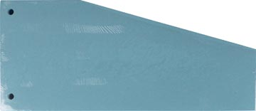 Pergamy trapezium verdeelstroken, pak van 100 stuks, blauw