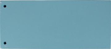 Pergamy verdeelstroken, pak van 100 stuks, blauw