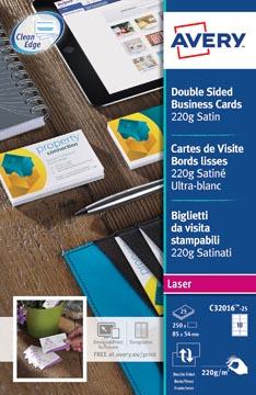 AVERY visitekaarten Quick&Clean 220 g/m²