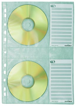 Durable ringbandhoes voor CD/DVD