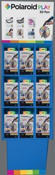 Polaroid 3D pen Play, display met 18 stuks (9 x 3D pen + 9 x filament voor 3D pen)