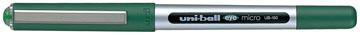 Uni-ball Eye Micro roller, schrijfbreedte 0,3 mm, punt 0,5 mm, groen